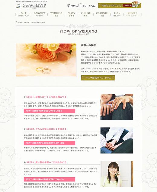 FLOW OF WEDDING