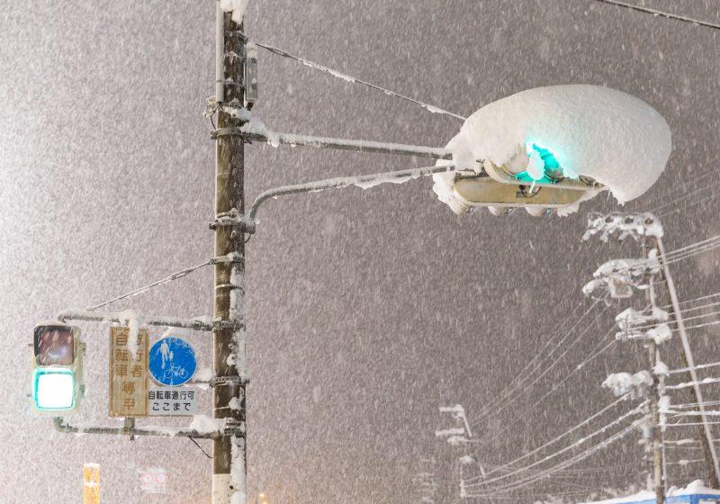 大雪警報の発令についての対応