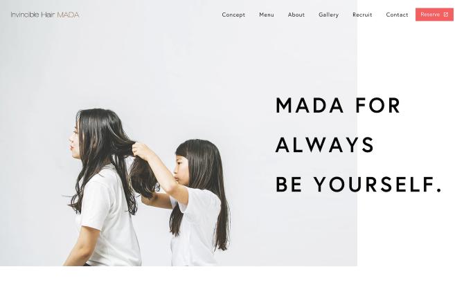 Invincible Hair MADA|姫路の隠れ家ヘアサロン