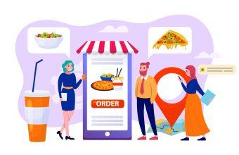 飲食アプリ ストアTop10デザイン事例